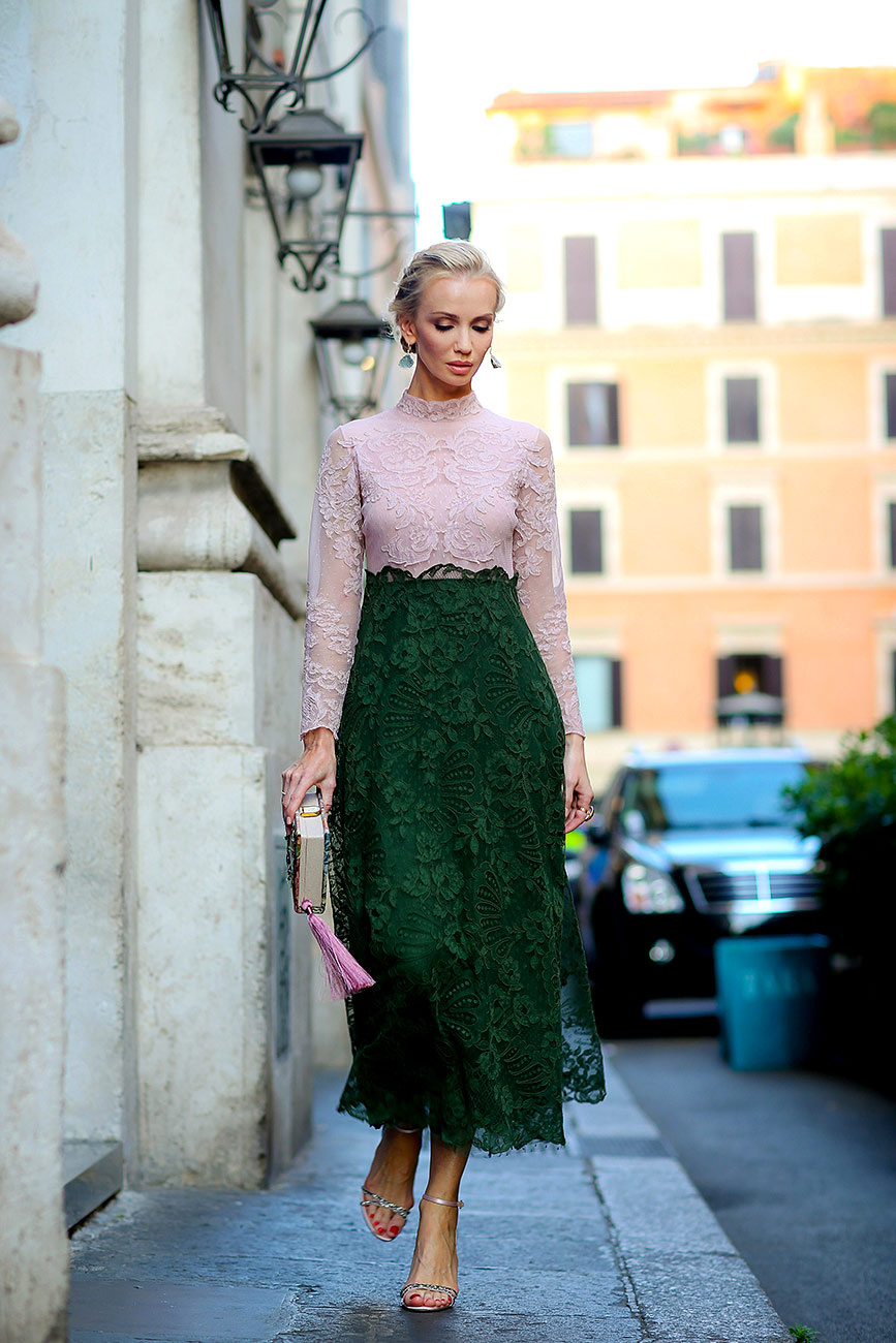 green-and-pink-dress