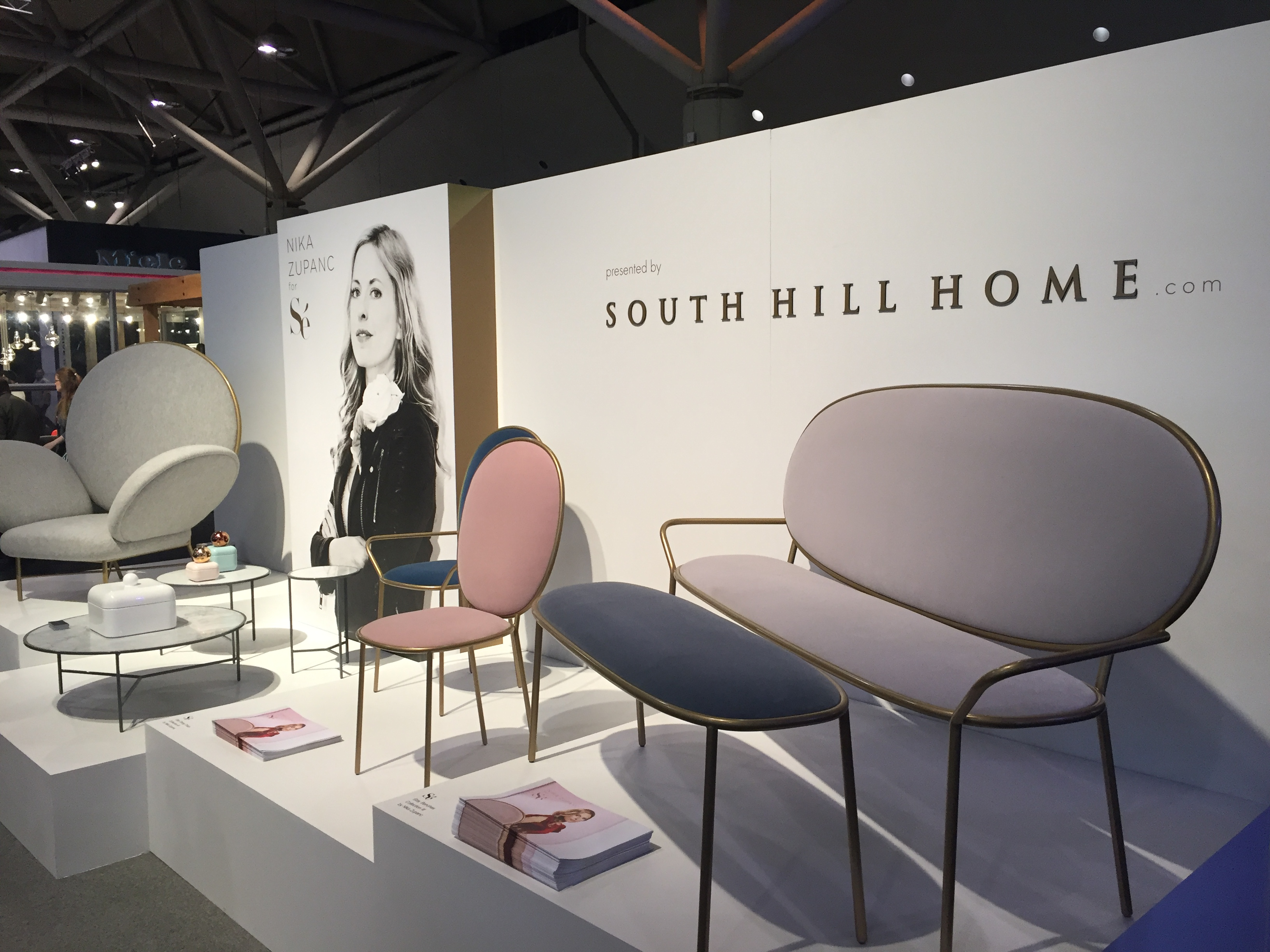 South Hill Home Showcased This Collection Designed By Nika Zupanc For Se. I  Couldnu0027t Get A Better Picture Of This Modern Yet Feminine Furniture For The  ...