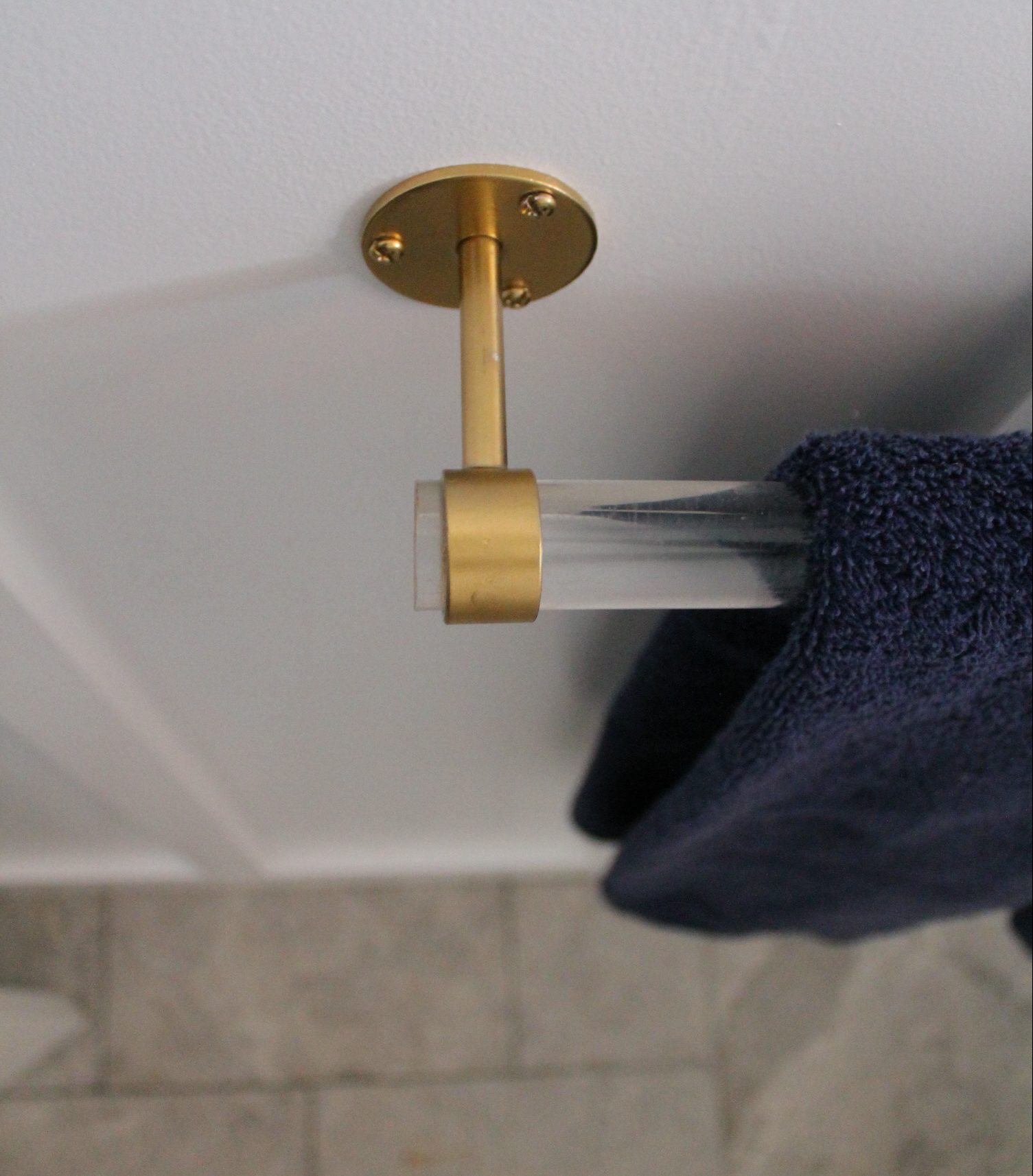 The Hunted & Gathered Towel Bar DIY